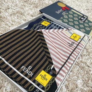 FENDI - 【新品未使用品】FENDI Burberrys ハンカチ4枚セット