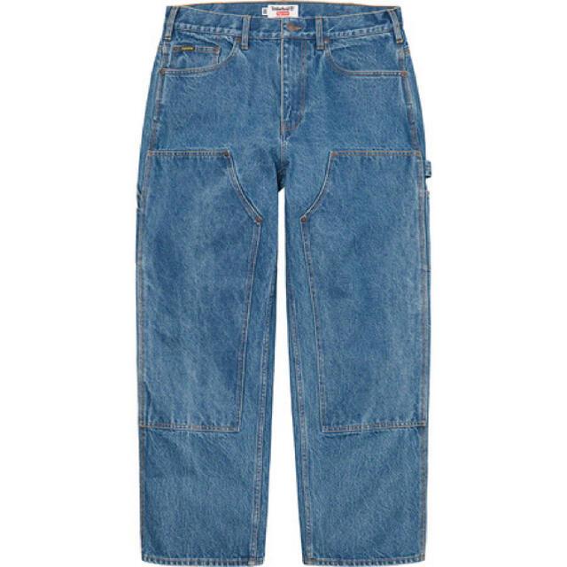 Supreme(シュプリーム)のsupreme ティンバーランド ダブルニー ジーンズ メンズのパンツ(デニム/ジーンズ)の商品写真