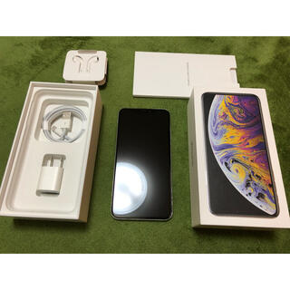 iPhone - iPhone XS Max  シルバー 256GB 国内版SIMフリー
