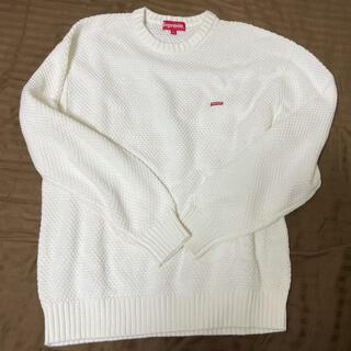 シュプリーム(Supreme)のSupreme Textured Small Box  セーター 試着のみ 新品(ニット/セーター)