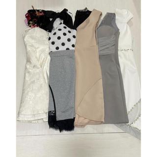 JEWELS - ナイトドレス キャバドレス まとめ売り セット 6点