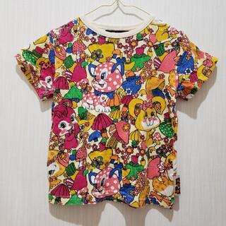グラグラ(GrandGround)のチェリッチュ レトロアニマル柄Tシャツ 120㎝(Tシャツ/カットソー)
