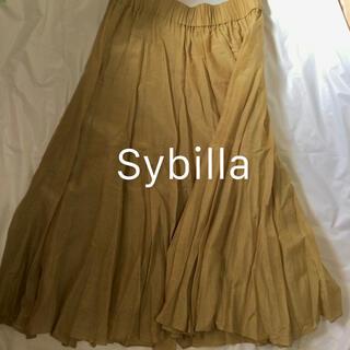 Sybilla - シビラ フレアスカート ベージュ M