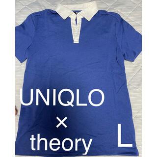 theory - UNIQLO×theory メンズポロシャツ 半袖トップス
