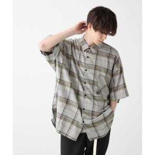 ハレ(HARE)のBIGチェックシャツ(HARE)(シャツ)