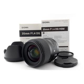 シグマ(SIGMA)のSIGMA 35mm F1.4 DG HSM Art ソニーAマウント用・元箱付(レンズ(単焦点))