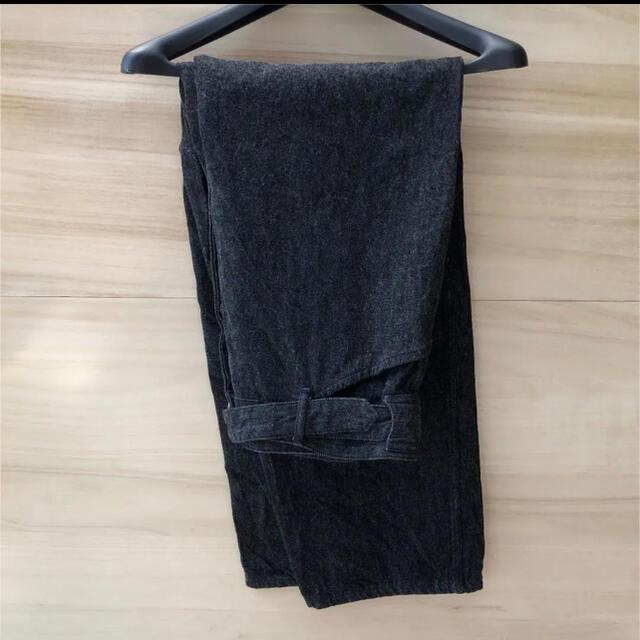 COMOLI(コモリ)のcomoli 21ss デニム ブラック エクリュ メンズのパンツ(デニム/ジーンズ)の商品写真