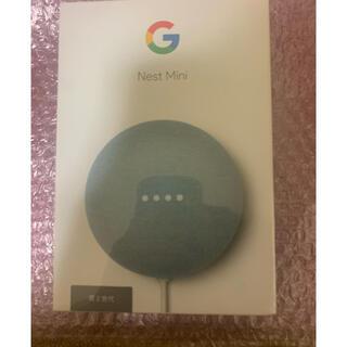 Google Nest Mini スマートホームスピーカー