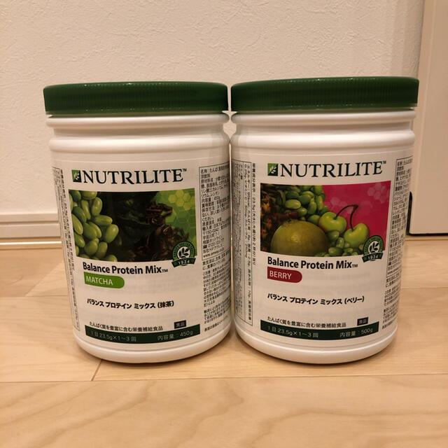Amway(アムウェイ)のアムウェイ  プロテイン ベリー&抹茶 食品/飲料/酒の健康食品(プロテイン)の商品写真