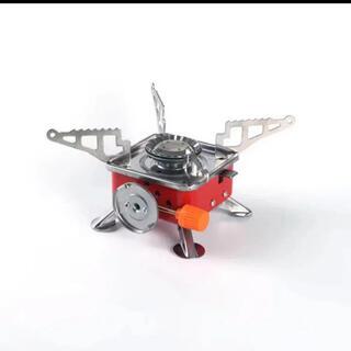 ガスバーナー キャンプストーブ ガスコンロストーブ 火力調節圧電点火