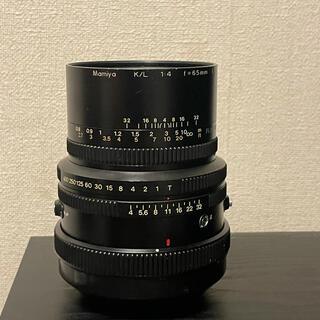 マミヤ(USTMamiya)のkenken様専用Mamiya K/L 65mm F4 L  rb67 rz67(フィルムカメラ)