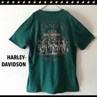 ハーレーダビッドソン(Harley Davidson)のハーレーダビッドソン★ロゴ&グラフィック★両面プリントTシャツ(Tシャツ/カットソー(半袖/袖なし))