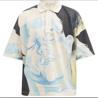 ジェイダブリューアンダーソン(J.W.ANDERSON)の希少 21ss JW ANDERSON オーバーサイズポロシャツ 国内正規品(ポロシャツ)