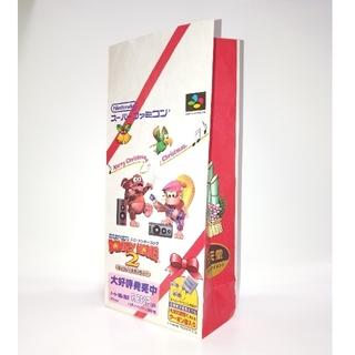 スーパーファミコン - ゲーム紙袋 スーパードンキーコング2 ディクシー&ディディー