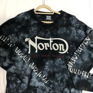 ノートン(Norton)のNorton◆刺繍・プリントシャツ長袖(Tシャツ/カットソー(七分/長袖))