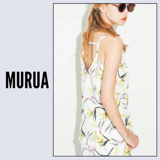 MURUA - MURUA フラミンゴフラワー キャミソール♡エモダ GYDA ENVYM