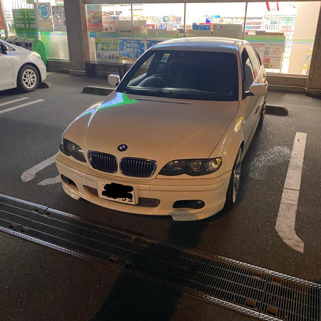 BMW(ビーエムダブリュー)のレストアベース!bmw e46 後期 mスポーツ車検令和3年11月コミコミ 自動車/バイクの自動車(車体)の商品写真
