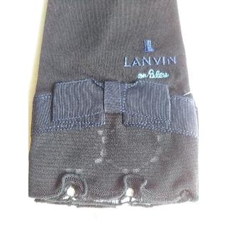 LANVIN en Bleu - 黒アームカバー