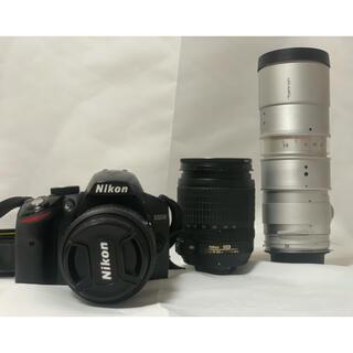 Nikon - Nikon D3200  レンズ3本 ※一部ジャンク