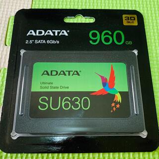 【新品】ADATA 2.5インチSSD 960GB(PCパーツ)