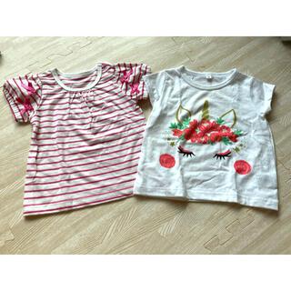 ニシマツヤ(西松屋)のTシャツ 2枚セット 90cm(Tシャツ/カットソー)