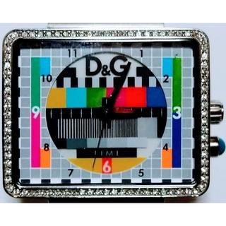 ドルチェアンドガッバーナ(DOLCE&GABBANA)の【新品同様】ドルチェ&ガッバーナ(D&G) 男女向け腕時計 新品購入時の全て付属(腕時計(アナログ))