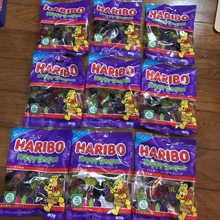 ハリボーハッピーグレープ9袋(菓子/デザート)