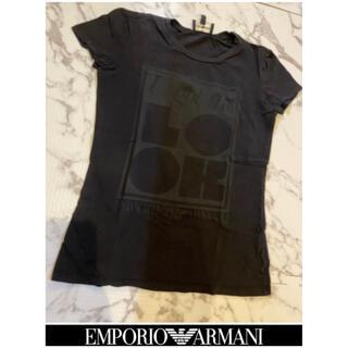 エンポリオアルマーニ(Emporio Armani)の【EMPORIO ARMANI】レディース Tシャツ 美品✨(Tシャツ(半袖/袖なし))