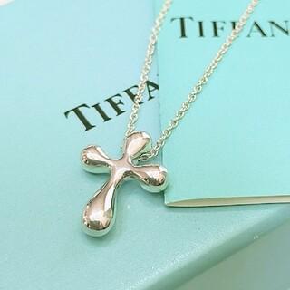 Tiffany & Co. - ティファニー エルサペレッティ クロスネックレス