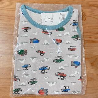 コンビミニ(Combi mini)のCombimini タンクトップ size90 飛行機 熱気球 男の子 夏服(Tシャツ/カットソー)
