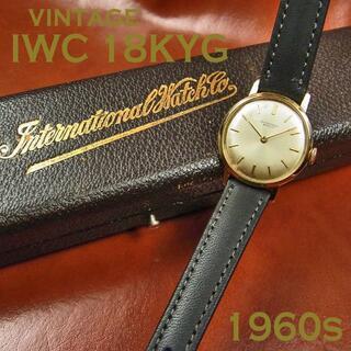 インターナショナルウォッチカンパニー(IWC)のIWC レディース 18KYG 金無垢 Cal.41 手巻き(腕時計)