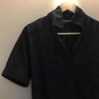 ナノユニバース(nano・universe)のナノユニバース フレンチリネン素材 レディースシャツ(シャツ/ブラウス(半袖/袖なし))