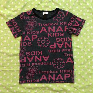 アナップキッズ(ANAP Kids)のアナップキッズ 総柄 Tシャツ 110サイズ(Tシャツ/カットソー)