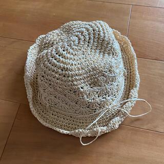 ムジルシリョウヒン(MUJI (無印良品))の無印 MUJI 麦わら帽子 54(帽子)