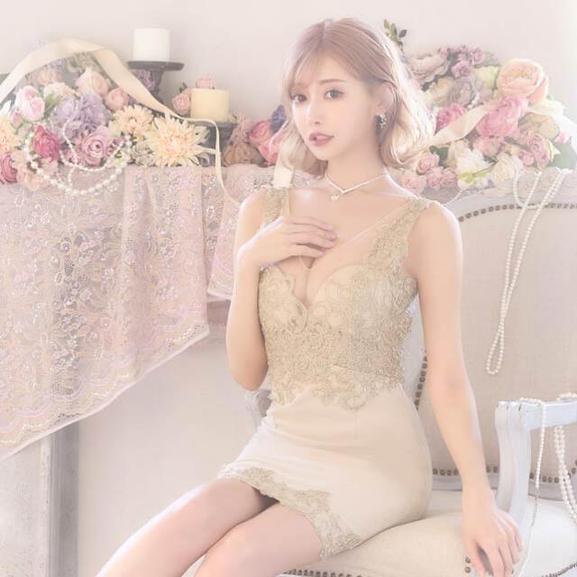 dazzy store(デイジーストア)のdazzystore キャバドレス 明日花キララ レディースのフォーマル/ドレス(ミニドレス)の商品写真