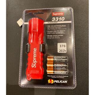 シュプリーム(Supreme)の19ss Supreme Pelican 3310PL Flashlight 赤(ライト/ランタン)