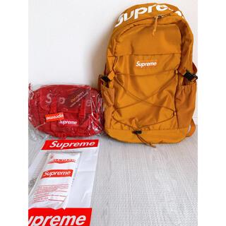 シュプリーム(Supreme)のSUPREME 16ssbackpack&20sswaist bagセット(ウエストポーチ)