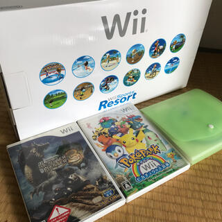 Wii - Wii本体とおまけ