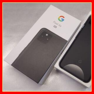 Google Pixel - 【新品未使用】Google Pixel4a (5G) Black【SIMフリー】