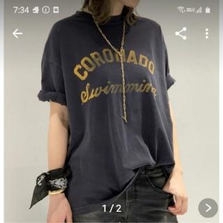 DEUXIEME CLASSE - アールジュビリー 別注 CORONADO Tシャツ