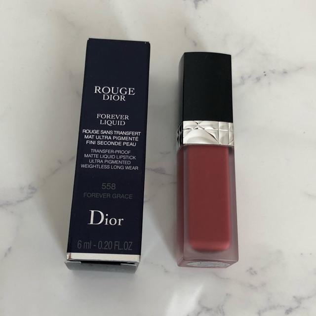 Dior(ディオール)のDior ルージュ ディオール フォーエヴァーリキッド 558 コスメ/美容のベースメイク/化粧品(口紅)の商品写真