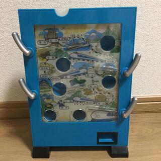 バンダイ(BANDAI)の駄菓子屋ゲーム貯金箱 新幹線ゲーム(知育玩具)