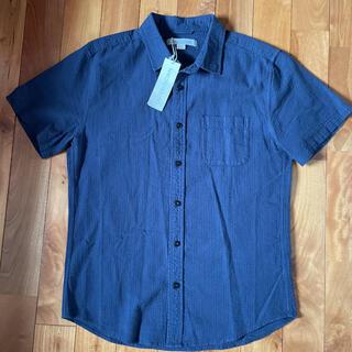 ロンハーマン(Ron Herman)の新品ロンハーマン アウターノウン半袖シャツ シアサッカーシャツ(シャツ)