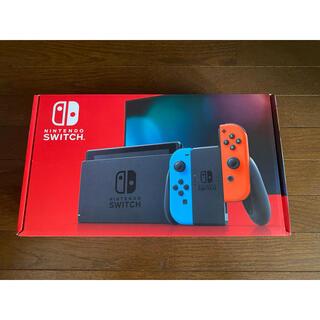 ニンテンドースイッチ(Nintendo Switch)の任天堂switch本体 新品 (家庭用ゲーム機本体)