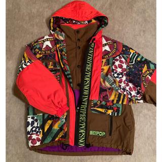 クージー(COOGI)の古着90s ナイロンジャケット スキーウェア BE POP ストリート マルチ(ナイロンジャケット)