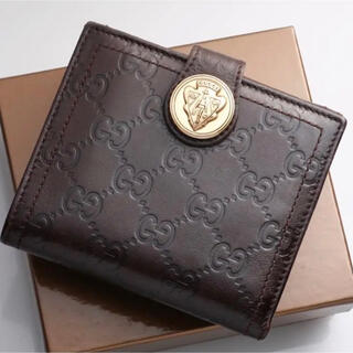 グッチ(Gucci)のGUCCI 折りたたみ財布☆希少☆(折り財布)
