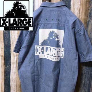 XLARGE - ♪ 【X-LARGE】エクストラージ 半袖シャツ ビッグプリント