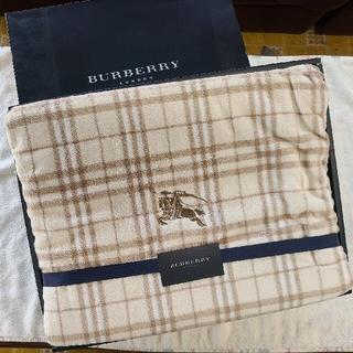BURBERRY - バーバリー シール織り綿毛布 レア