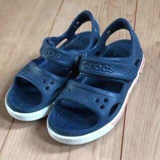 crocs - クロックスのサンダル キッズ17.5cm