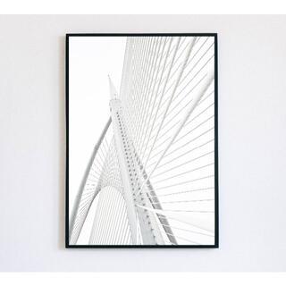 【インテリアポスター】インテリアフォト 写真 モノクロ 白(アート/写真)
